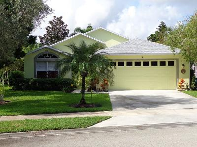 Sebastian Single Family Home For Sale: 781 Collier Club Drive