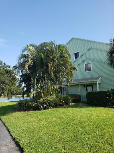 Sebastian Condo/Townhouse For Sale: 9630 Riverside Drive #1