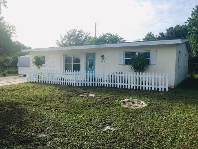 Sebastian FL Single Family Home For Sale: $142,500