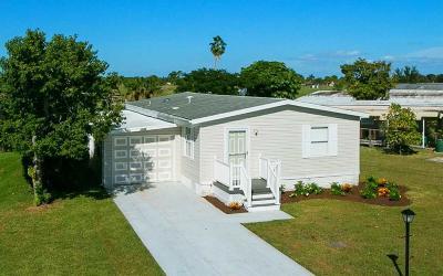 Sebastian Single Family Home For Sale: 1054 Barefoot Circle