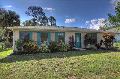 Sebastian FL Single Family Home For Sale: $179,900