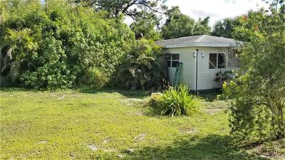 Sebastian FL Single Family Home For Sale: $134,900