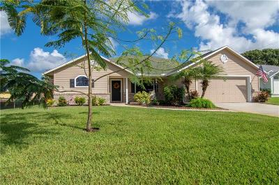 Sebastian FL Single Family Home For Sale: $289,900