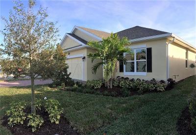 Sebastian Single Family Home For Sale: 416 Sandcrest Circle