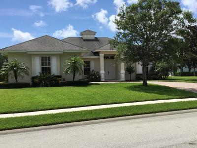 Sebastian Single Family Home For Sale: 105 Woodstork Way
