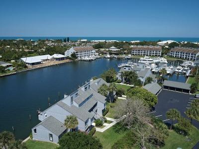 Vero Beach Condo/Townhouse For Sale: 1104 Spyglass Lane #1104