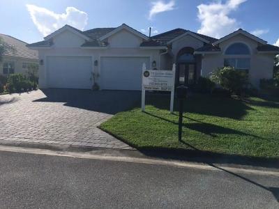 Vero Beach Single Family Home For Sale: 465 Wingate Terrace