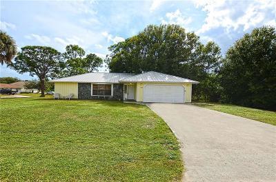 Sebastian Single Family Home For Sale: 549 Hibiscus Avenue