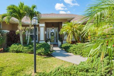 Vero Beach Single Family Home For Sale: 1035 SW White Tail Avenue