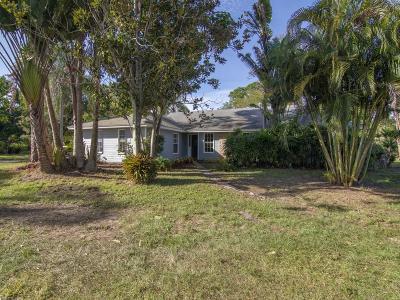 Vero Beach Single Family Home For Sale: 2200 13th Street