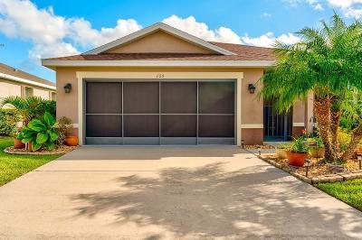 Sebastian Single Family Home For Sale: 105 Elena Drive