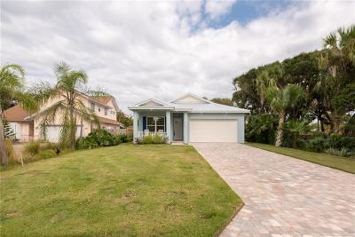 Melbourne, Melbourne Beach Single Family Home For Sale: 6775 Angeles Road