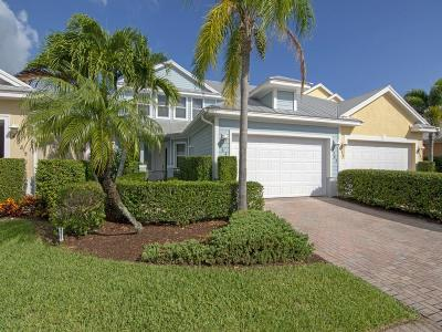 Vero Beach Single Family Home For Sale: 4585 Bridgepointe Way #164