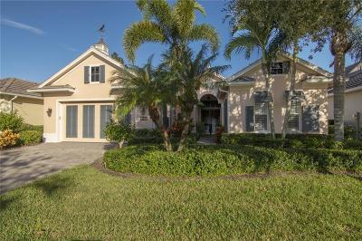 Vero Beach Single Family Home For Sale: 9130 Spring Time Drive