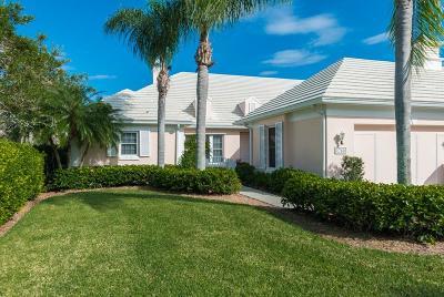 Vero Beach Single Family Home For Sale: 4780 Saint Elizabeth Terrace #S