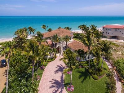 Vero Beach, Indian River Shores, Melbourne Beach, Melbourne, Sebastian, Palm Bay, Orchid Island, Micco, Indialantic, Satellite Beach Single Family Home For Sale: 100 Ocean Way