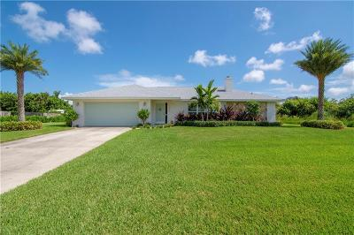 Vero Beach Single Family Home For Sale: 1026 54th Avenue