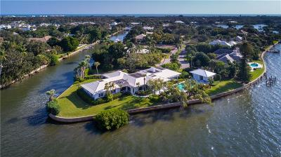 Vero Beach Single Family Home For Sale: 500 River Drive