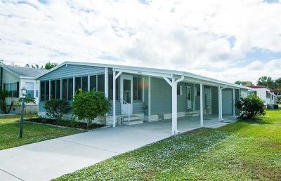 Sebastian Single Family Home For Sale: 715 Silverthorn Court