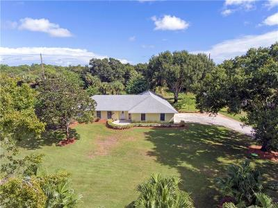 Vero Beach Single Family Home For Sale: 3330 57th Avenue