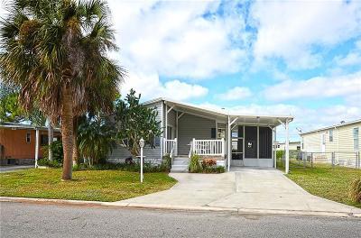 Sebastian FL Single Family Home For Sale: $129,900