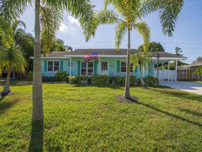 Sebastian FL Single Family Home For Sale: $210,000