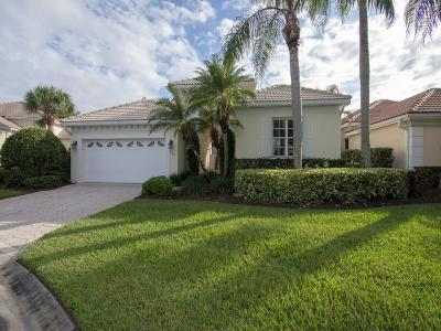 Island Club Of Vero Single Family Home For Sale: 965 Island Club Place