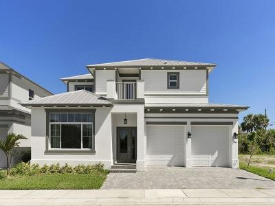 Hutchinson Island Single Family Home For Sale: 120 Ocean Estates Drive