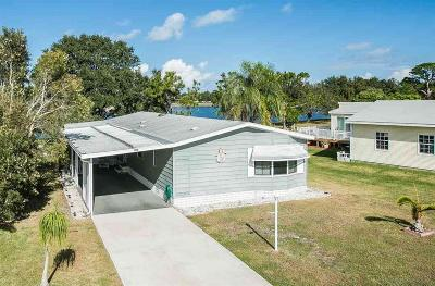 Sebastian Single Family Home For Sale: 355 Egret Circle