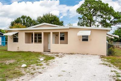 Vero Beach Single Family Home For Sale: 4510 38th Court