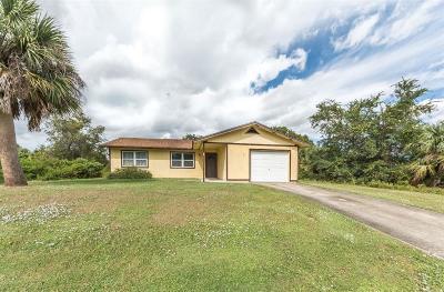 Sebastian Single Family Home For Sale: 761 Capon Terrace