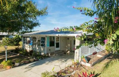 Sebastian Single Family Home For Sale: 1289 Gardenia Drive