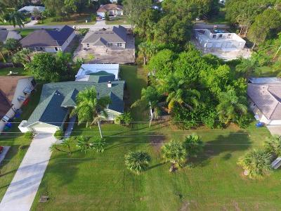 Sebastian Single Family Home For Sale: 1521 Barber Street