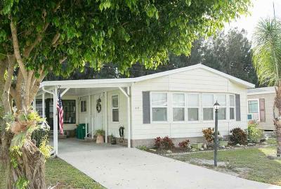 Sebastian Single Family Home For Sale: 419 Papaya Circle