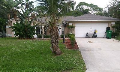 Sebastian FL Single Family Home For Sale: $250,000