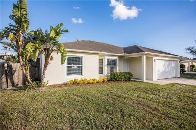 Sebastian FL Single Family Home For Sale: $200,000
