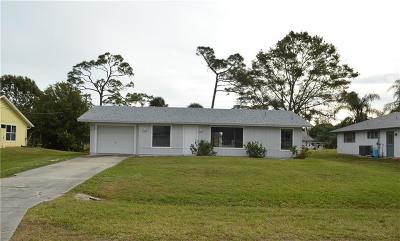 Sebastian Single Family Home For Sale: 649 Sembler Street