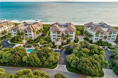 Vero Beach, Indian River Shores, Melbourne Beach, Sebastian, Palm Bay, Orchid Island, Micco, Indialantic, Satellite Beach Condo/Townhouse For Sale: 40 Beachside Drive #201