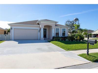 Sebastian Single Family Home For Sale: 125 Amherst Lane