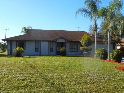 Sebastian FL Single Family Home For Sale: $187,900
