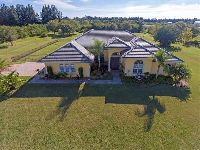 Vero Beach Single Family Home For Sale: 6875 37th Street