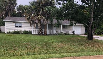 Sebastian Single Family Home For Sale: 322 Easy Street