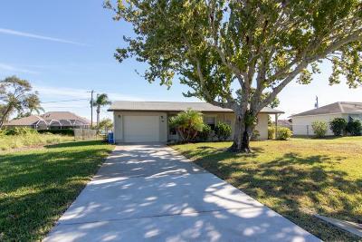 Sebastian Single Family Home For Sale: 109 Wimbrow Drive