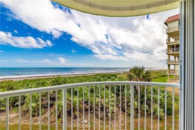 cocoa beach Condo/Townhouse For Sale: 3031 Atlantic Avenue #202