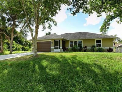 Sebastian Single Family Home For Sale: 232 Midvale Terrace