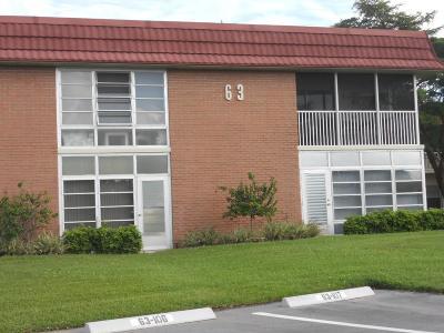 Vero Beach Condo/Townhouse For Sale: 63 Woodland Drive #101