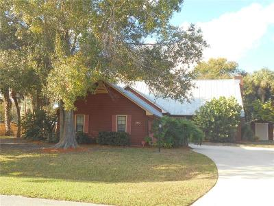 Sebastian Single Family Home For Sale: 391 Bayfront Terrace