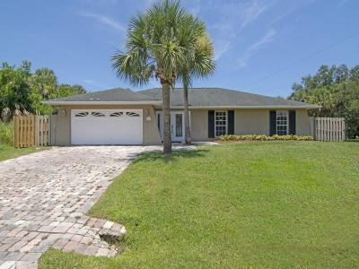 Sebastian Single Family Home For Sale: 312 Biscayne Lane