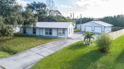 Sebastian Single Family Home For Sale: 1037 Blossom Drive