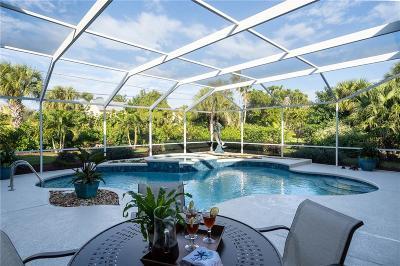 Vero Beach, Indian River Shores, Melbourne Beach, Sebastian, Palm Bay, Orchid Island, Micco, Indialantic, Satellite Beach Single Family Home For Sale: 2160 Captains Walk